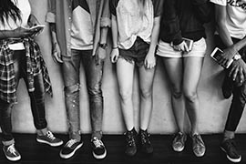 Teenagers Lifestyle Casual Culture