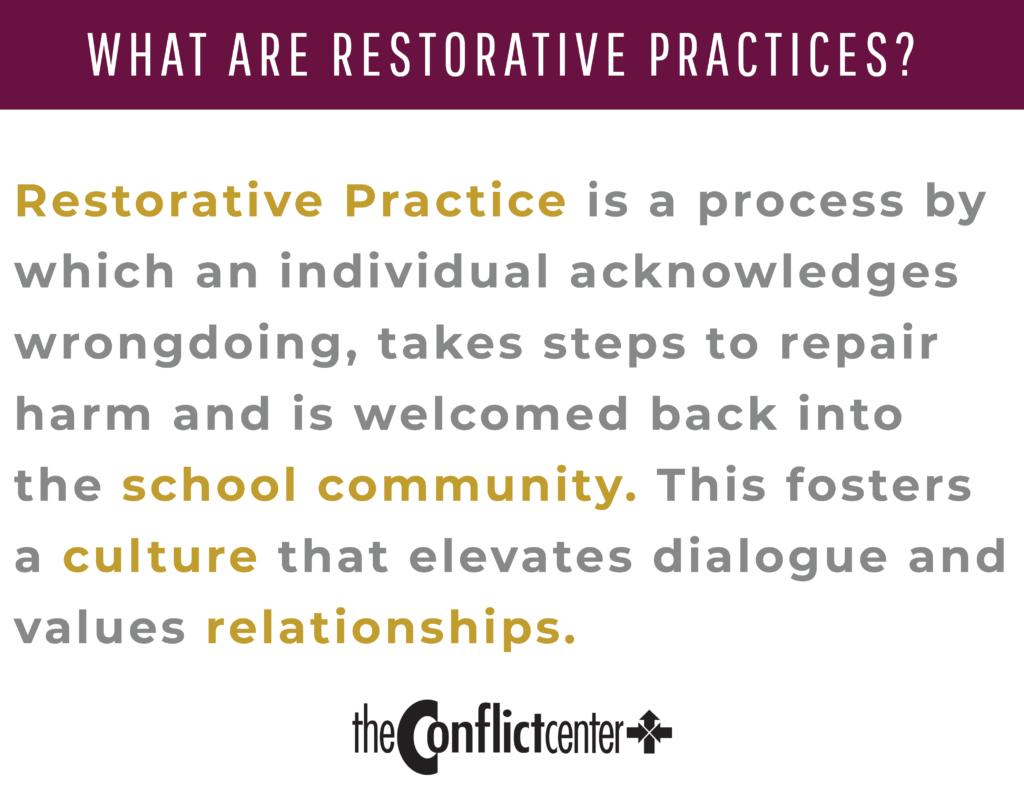 What Are Restorative Practices Quote
