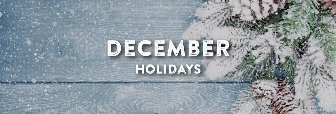 December Holidays Logo