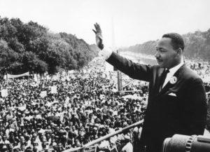 Martin Luther King Jr. at Dream Speech