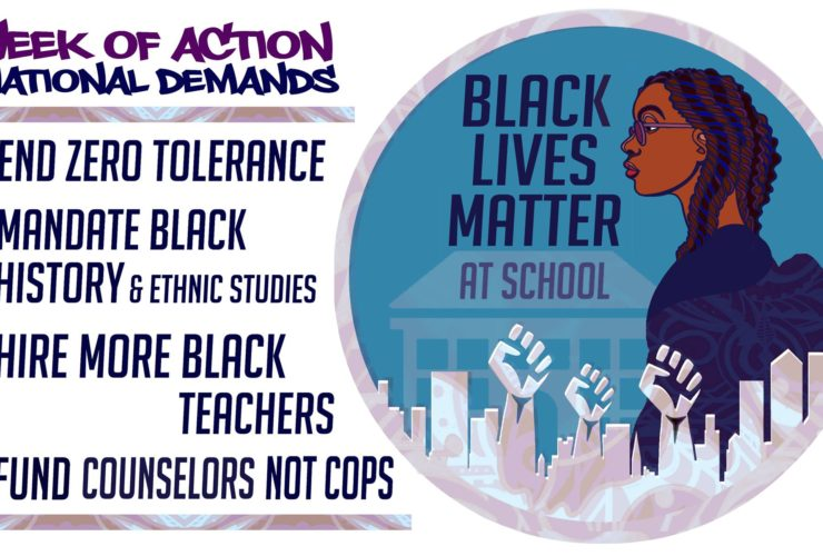 Black Lives Matter At School Infographic