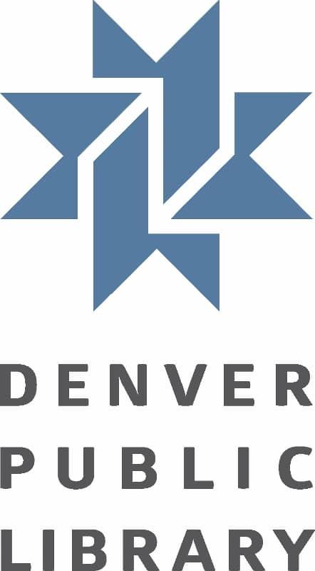 Denver public library logo